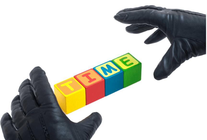 Les voleurs de temps, qui sont-ils et comment les éviter ?